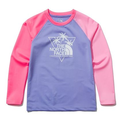 THE NORTH FACE 子供用水着・ビーチグッズ [THE NORTH FACE]★ 20SS NEW ★K'S SAVE OCEAN RASHGUARD SET(16)