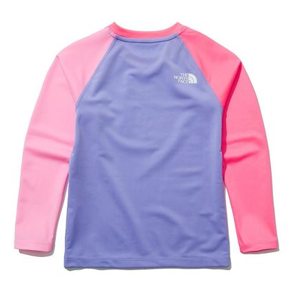 THE NORTH FACE 子供用水着・ビーチグッズ [THE NORTH FACE]★ 20SS NEW ★K'S SAVE OCEAN RASHGUARD SET(17)