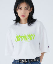 ACOVER(オコボ) Tシャツ・カットソー [ACOVER]New Ordinary T-Shirts(White, Cobalt, Black,Lavender)