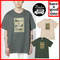 have a good time(ハブアグットタイム) Tシャツ・カットソー have a good time Military Frame S/S Tee MH1536 追跡付