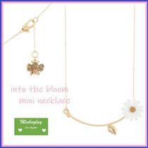 【kate spade】可憐なお花★into the bloom mini necklace★