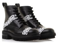 【DSQUARED2】BOOTS LOGO / ABW0099 BLACK