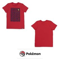 【Pokemon】「コイキング」Red Relaxed Tシャツ