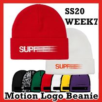 Supreme Motion Logo Beanie SS 20 WEEK 7