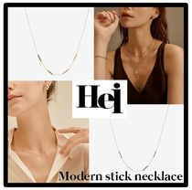Apink着用ネックレス/送料・関税込★Hei★modern stick necklace