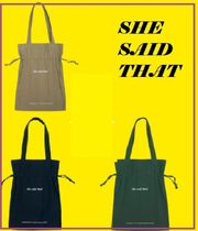 she said that☆ signaturebag ☆3種