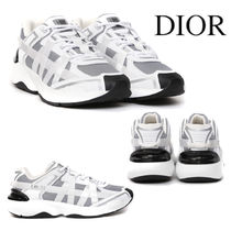 DIOR B24 Runtek Sneaker in Nylon with White Technical Canvas