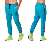 新作♪メンズ Zumba Original Flow Men's Joggers- Seaside Surf