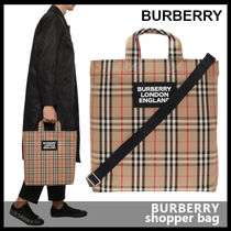 【BURBERRY】shopper bag 8017740