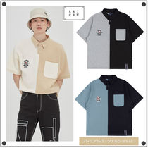 日本未入荷ROMANTIC CROWNのPERFECT GAME HALF POLO SHIRT 全3色