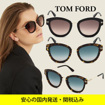 ★sale★ TOM FORD MIA ボストンサングラス 2color