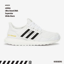 人気話題!adidas Ultra Boost DNA Superstar White Black