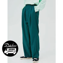 OPEN THE DOOR Mini Wrap Wide Slacks 4 Color MG77 追跡付