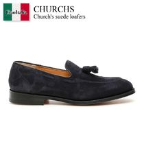 Church s suede loafers
