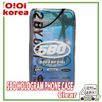 【OiOi 20SS】5BO HOLOGRAM PHONE CASE_clear Iphone ケース
