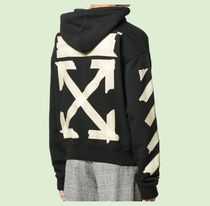 OFF WHITE TAPE ARROWS HOODIE スウェット パーカー