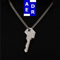 【ADERERROR】Ader key necklace [Long] Silver
