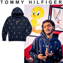 TOMMY JEANS Looney Tunes Hoody 関税なし 国内買付 すぐ届く