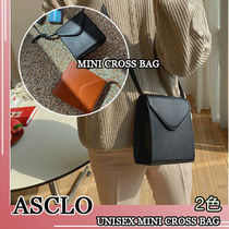 ASCLO★韓国の人気★UNISEX MINI CROSS BAG 2色