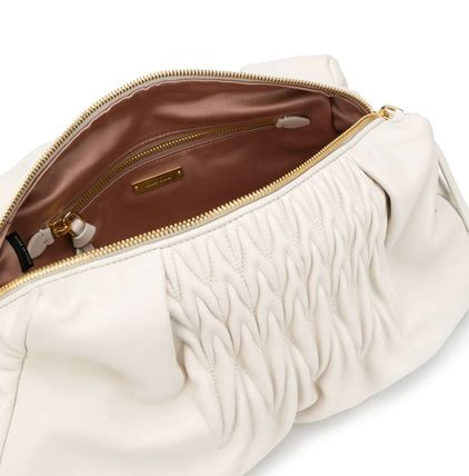 MiuMiu ショルダーバッグ・ポシェット MM1184 NAPPA LEATHER SHOULDER BAG WITH KNOT DETAIL(8)