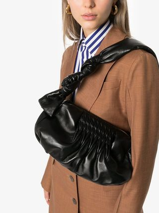 MiuMiu ショルダーバッグ・ポシェット MM1184 NAPPA LEATHER SHOULDER BAG WITH KNOT DETAIL(9)