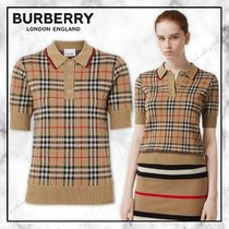 ◆Burberry20SS最新作◆ヴィンテージチェック ポロシャツ◆