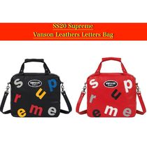 SS20 Supreme × Vanson Leathers Letters Bag - レターバッグ