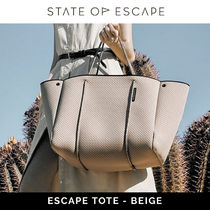 [State of escape] BEIGE - ESCAPE TOTE
