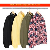 SS20 Supreme Raglan Court Jacket - ラグラン ジャケット