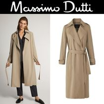 Massimo Dutti SALE!RELAXED TRENCH COAT WITH BELT