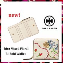 セール 新作 Tory Burch Kira Mixed Floral  Bi-Fold Wallet