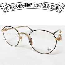 CHROME HEARTS クロムハーツ BUBBA Orb/Matte Gold メガネ 眼鏡