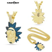 【King Ice】King Ice x Rick and Morty - Good Rick Necklace