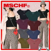 MISCHIEF(ミスチーフ) Tシャツ・カットソー ☆☆送料・関税込☆MISCHIEF☆FITTED BASIC☆☆