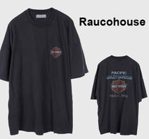 Raucohouse HONOLULU HARLEY DYEING T-SHIRT