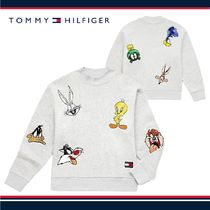 ☆TOMMY JEANS X LOONEY TUNES レディース スウェット☆税・送込