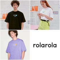 ROLAROLA◆20SS新作◆R:LOL SMILE T-SHIRT 〜男女兼用
