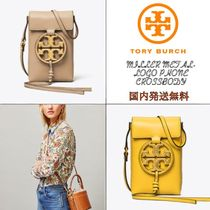 【国内発送】直営店MILLER METAL-LOGO PHONE CROSSBODY