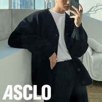 ASCLO Wool 50% Over Cardigan (4color)