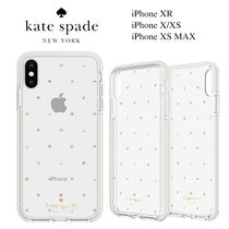 ◆Kate Spade◆iPhone XR, X/XS, XS MAX クリアドットケース