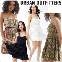 UO Honey Tiered Frock Mini Dress Urban Outfitters