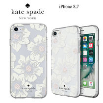 ◆Kate Spade◆iPhone 8, 7 クリア花柄ケース