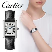Cartier(カルティエ) アナログ腕時計 【安心の国内発送】Cartier TANK SOLO タンクソロウォッチSM