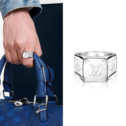 LOUIS VUITTON【入手困難】 大人気 RING CHEVALIER MONOGRAM