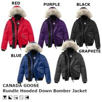 【キッズ】 CANADA GOOSE Rundle Hooded Down ジャケット