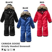 【キッズ】 CANADA GOOSE Grizzly Hooded Snowsuit スノースーツ