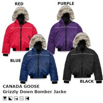 [キッズ]  CANADA GOOSE Grizzly Down Bomber Jacket ジャケット