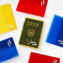 【2NUL】 Clear color passport cover