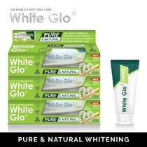 【White glo(ホワイトグロー)】天然成分 Pure & Natural x 3