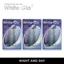 【White glo】歯磨き粉 Night and Day x 3